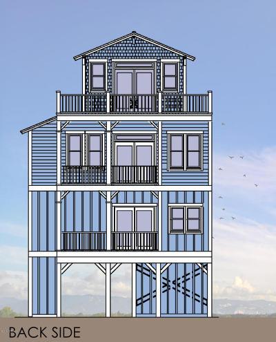 North Topsail Beach, Surf City, Topsail Beach Single Family Home For Sale: 7314 10th Avenue