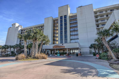 Wrightsville Beach Condo/Townhouse For Sale: 2700 N Lumina Avenue #605