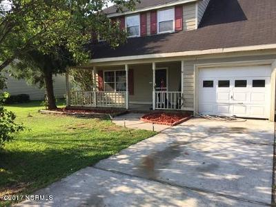 Jacksonville Rental For Rent: 406 Wolf Run Lane
