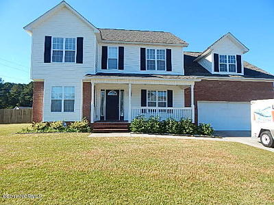 Jacksonville Rental For Rent: 101 Dawson Place Road