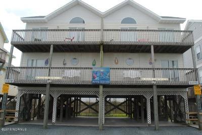 North Topsail Beach, Surf City, Topsail Beach Condo/Townhouse For Sale: 3990 Island Drive
