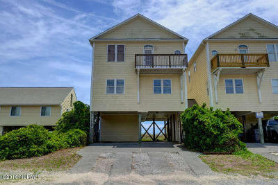 Surf City Condo/Townhouse For Sale: 1834 S Shore Drive #A