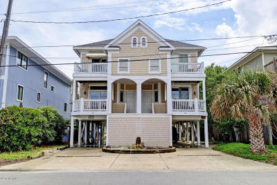Wrightsville Beach Condo/Townhouse For Sale: 3 W Henderson Street #B