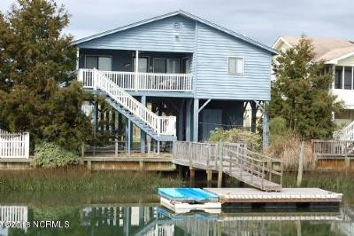 Holden Beach Single Family Home For Sale: 122 Sanford Street
