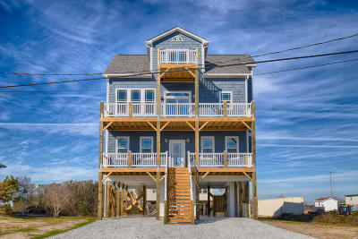 North Topsail Beach, Surf City, Topsail Beach Single Family Home For Sale: 2729 Island Drive