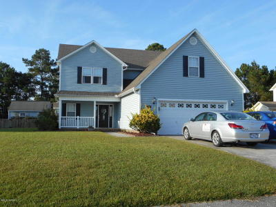 Jacksonville Single Family Home For Sale: 119 Grantham Lane