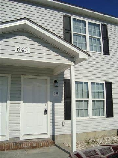 Richlands Rental For Rent: 643#19 Fowler Manning Road