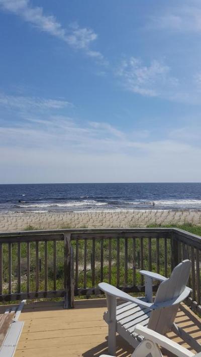 Oak Island Single Family Home For Sale: 4911 E Beach Drive