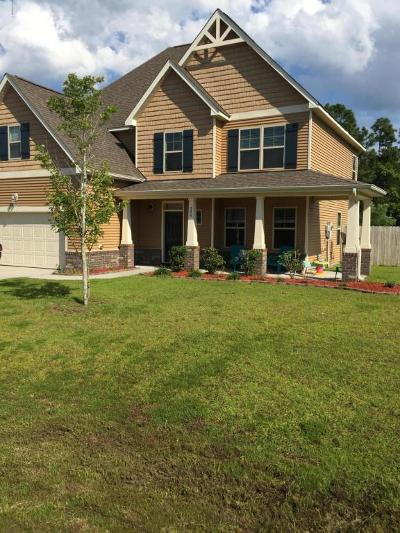 Holly Ridge Single Family Home For Sale: 308 Plymouth Lane