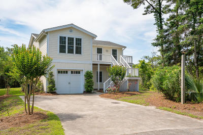 Pine Knoll Shores Single Family Home For Sale: 5 West Court