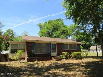 Calabash Single Family Home Pending: 1030 Fayetteville Avenue