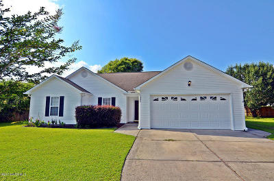 Wilmington NC Single Family Home For Sale: $232,000