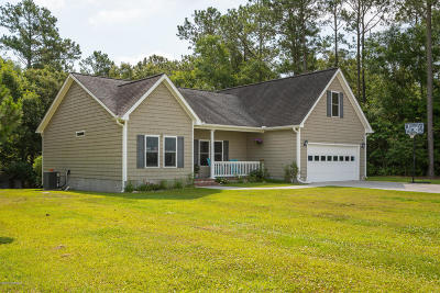 Swansboro Single Family Home For Sale: 1265 Hammock Beach Road