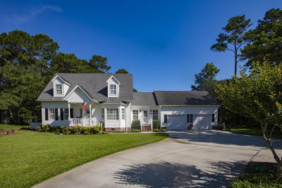 Southport Single Family Home Active Contingent: 6506 Walden Pond Lane