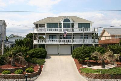 Emerald Isle NC Single Family Home For Sale: $740,000