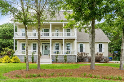 Sneads Ferry Single Family Home For Sale: 1066 Chadwick Shores Drive