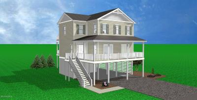 North Topsail Beach, Surf City, Topsail Beach Single Family Home For Sale: 109 Old Village Lane