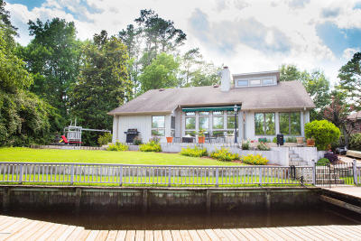New Bern Single Family Home For Sale: 2400 Turtle Bay Drive