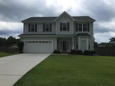 Jacksonville Single Family Home For Sale: 308 Exmoor Drive
