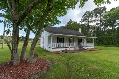 Beaufort Single Family Home For Sale: 342 Straits Road