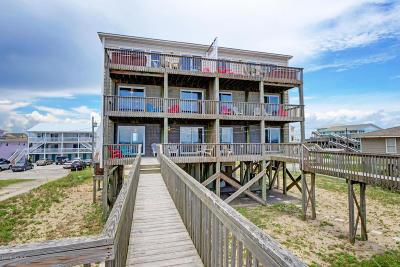 North Topsail Beach, Surf City, Topsail Beach Condo/Townhouse For Sale: 242 Seashore Drive