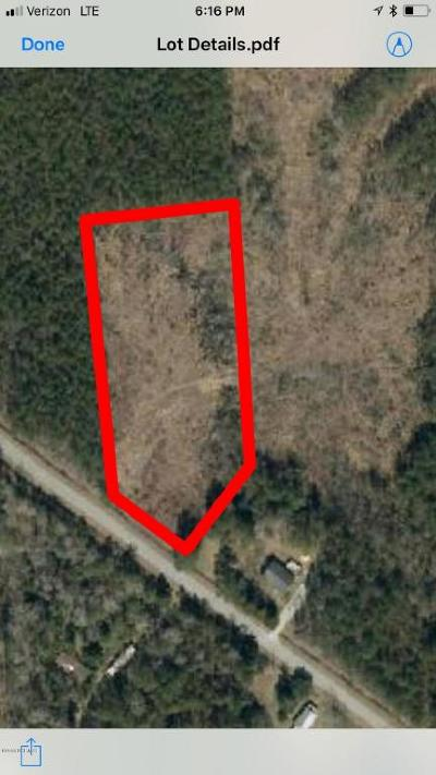 New Bern Residential Lots & Land For Sale: Simmons Loop Road