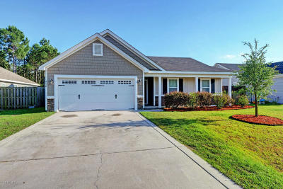 Holly Ridge Single Family Home For Sale: 410 Salvo Court
