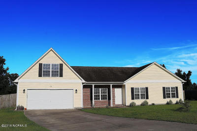Onslow County Single Family Home For Sale: 138 Hardin Drive