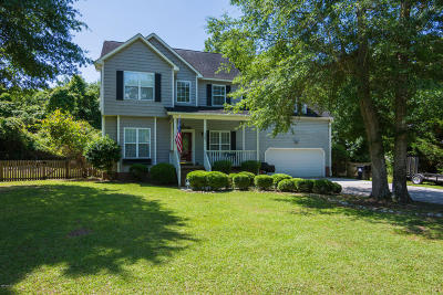 Sneads Ferry Single Family Home For Sale: 1343 Chadwick Shores Drive