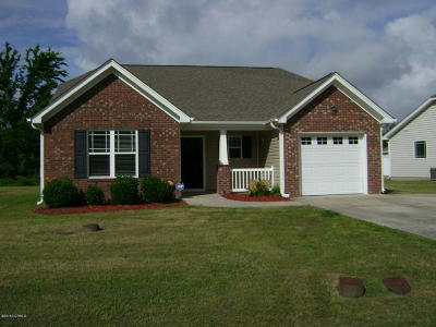 New Bern Single Family Home For Sale: 104 Falcon Landing Court