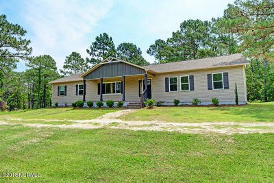 Holly Ridge Single Family Home For Sale: 171 Stump Sound Church Road