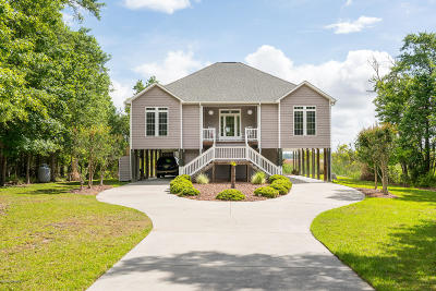 New Bern Single Family Home For Sale: 207 Chateau Drive