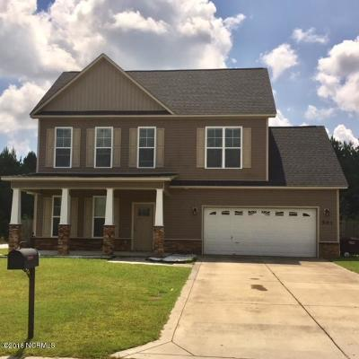 Jacksonville Single Family Home For Sale: 501 New Hanover Trail