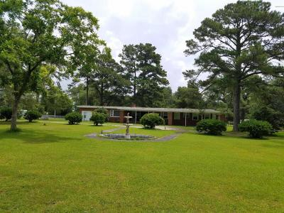 Beaufort Single Family Home Active Contingent: 834 Nc Highway 101
