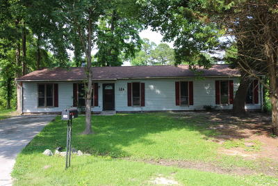 Onslow County Single Family Home For Sale: 124 Mill Pond Road