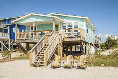 Oak Island Single Family Home For Sale: 2627 E Beach Drive
