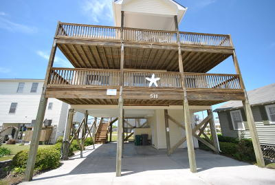 Surf City Single Family Home For Sale: 511 N Shore Drive