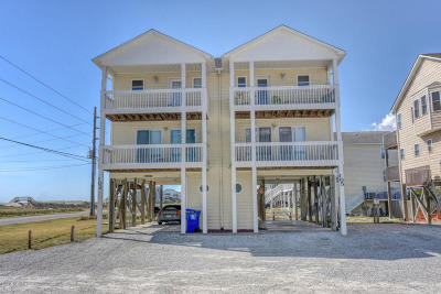 North Topsail Beach, Surf City, Topsail Beach Condo/Townhouse For Sale: 105 Volusia Drive