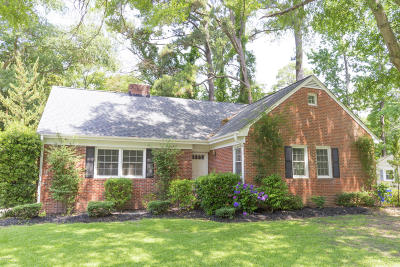 Greenville Single Family Home For Sale: 1603 Oaklawn Drive