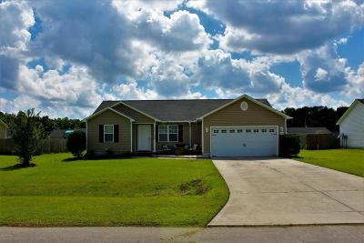 Onslow County Single Family Home For Sale: 214 Wingspread Lane