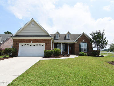 Leland Single Family Home For Sale: 1102 Lakebreeze Court