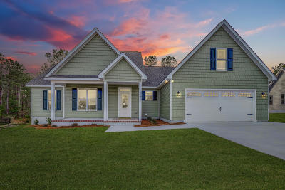 Swansboro Single Family Home For Sale: 110 Shadowcreek Drive