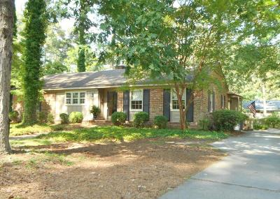 Rocky Mount Single Family Home For Sale: 305 Timberlane Drive