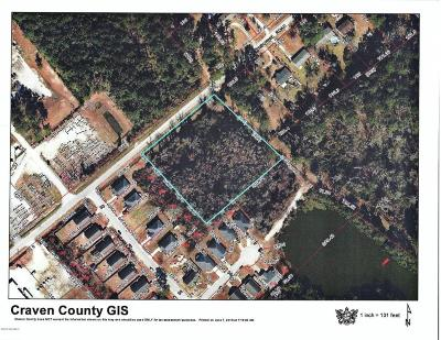 New Bern NC Residential Lots & Land For Sale: $45,000