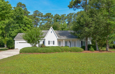 Morehead City Single Family Home For Sale: 114 Pine Bluff Drive