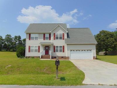 Havelock Single Family Home For Sale: 137 Secretariat Drive