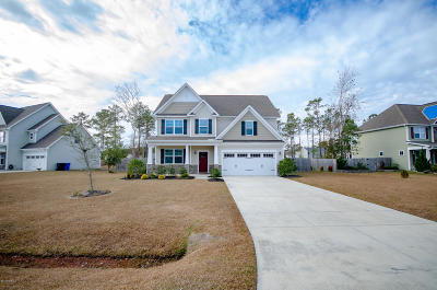 Holly Ridge Single Family Home For Sale: 209 Cheswick Drive