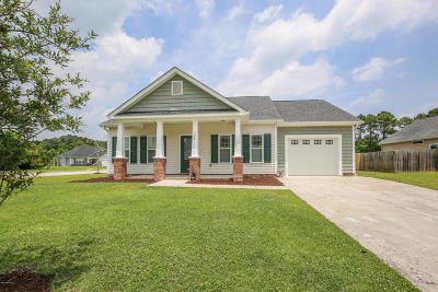 Swansboro Single Family Home For Sale: 422 Patriots Point Lane