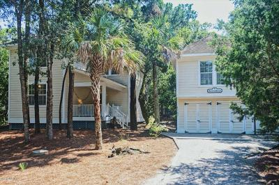 Bald Head Island Single Family Home For Sale: 128 Edward Teach Wynd