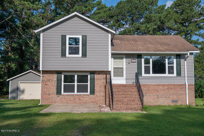 Beaufort NC Single Family Home For Sale: $137,500